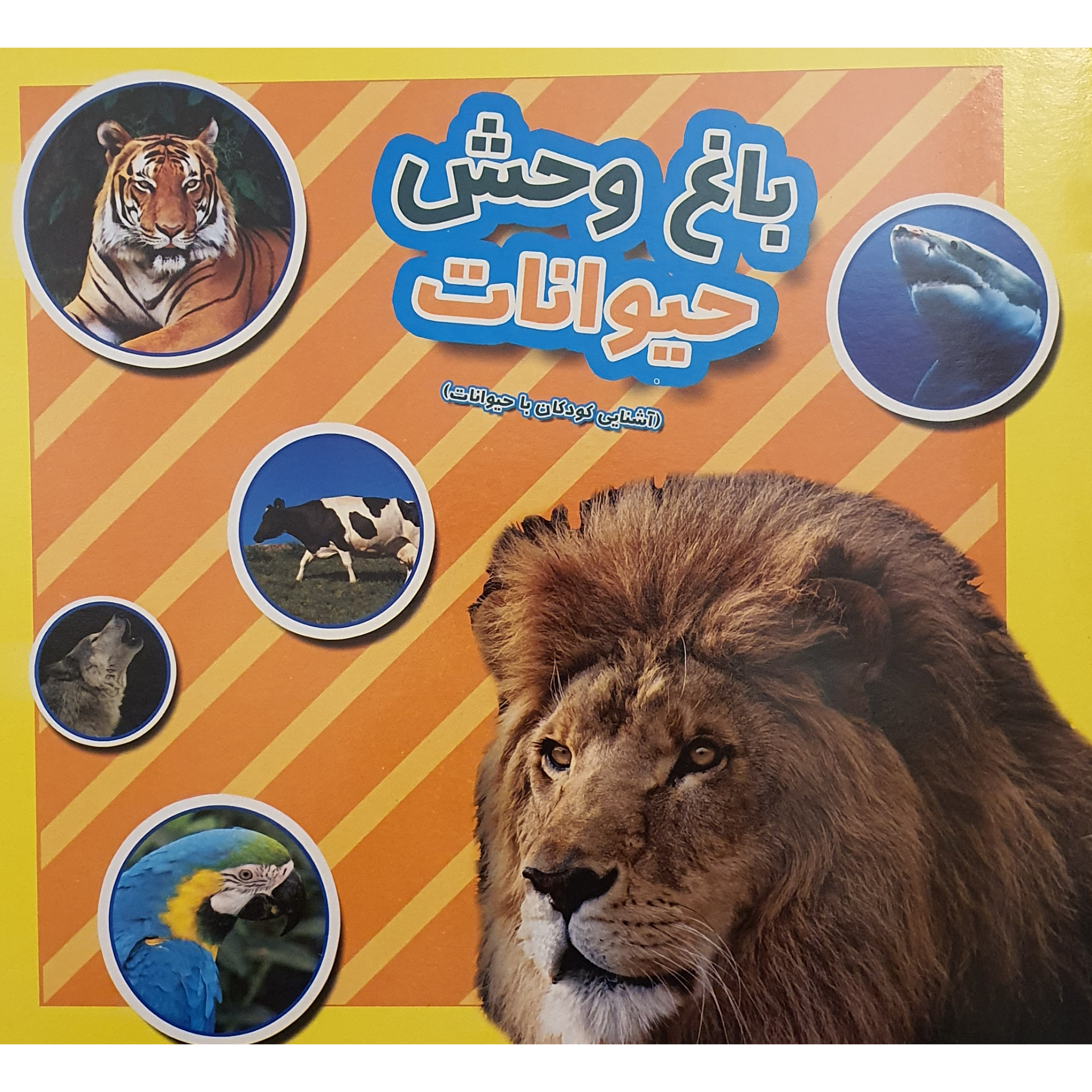 کتاب باغ وحش حیوانات آشنایی کودکان با حیوانات اثر فرزاد رضایی نشر آبشن