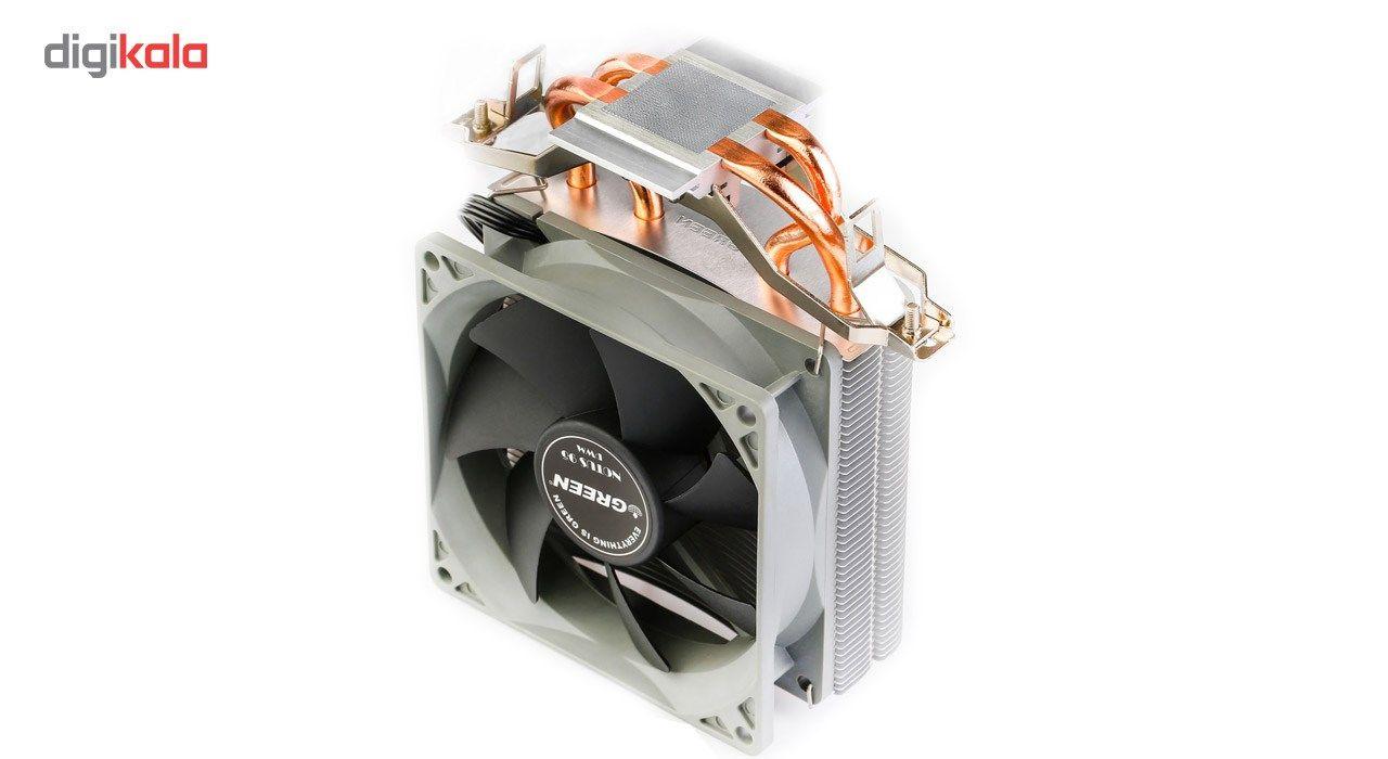 خنک کننده پردازنده گرین مدل NOTUS-95 PWM main 1 5