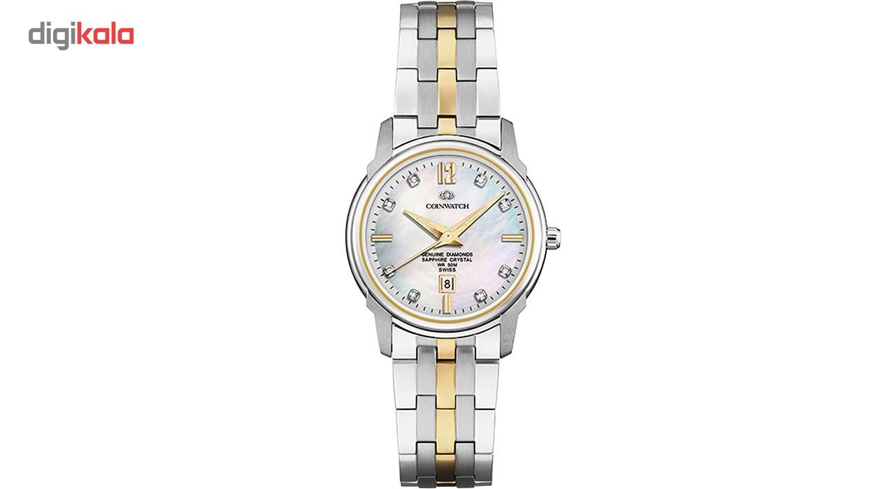 ساعت زنانه برند کوین واچ مدل C137TWH