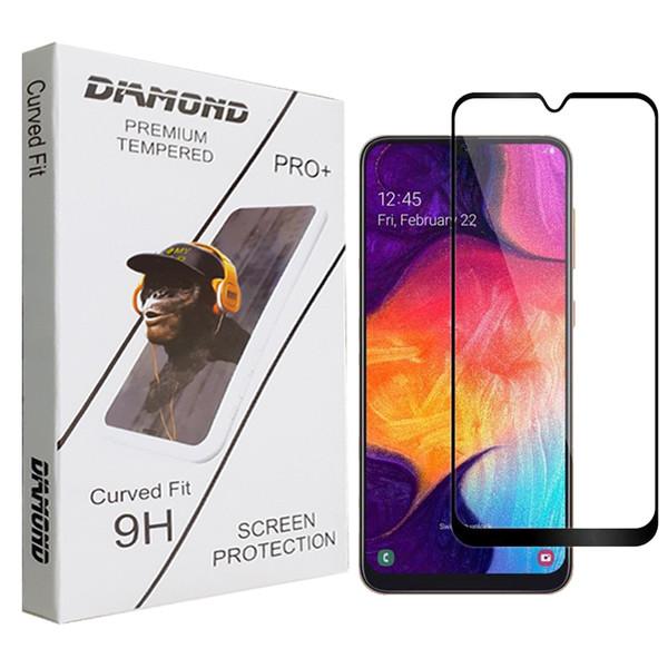 محافظ صفحه نمایش سرامیکی دیاموند مدل +PRO مناسب برای گوشی سامسونگ Galaxy A50s