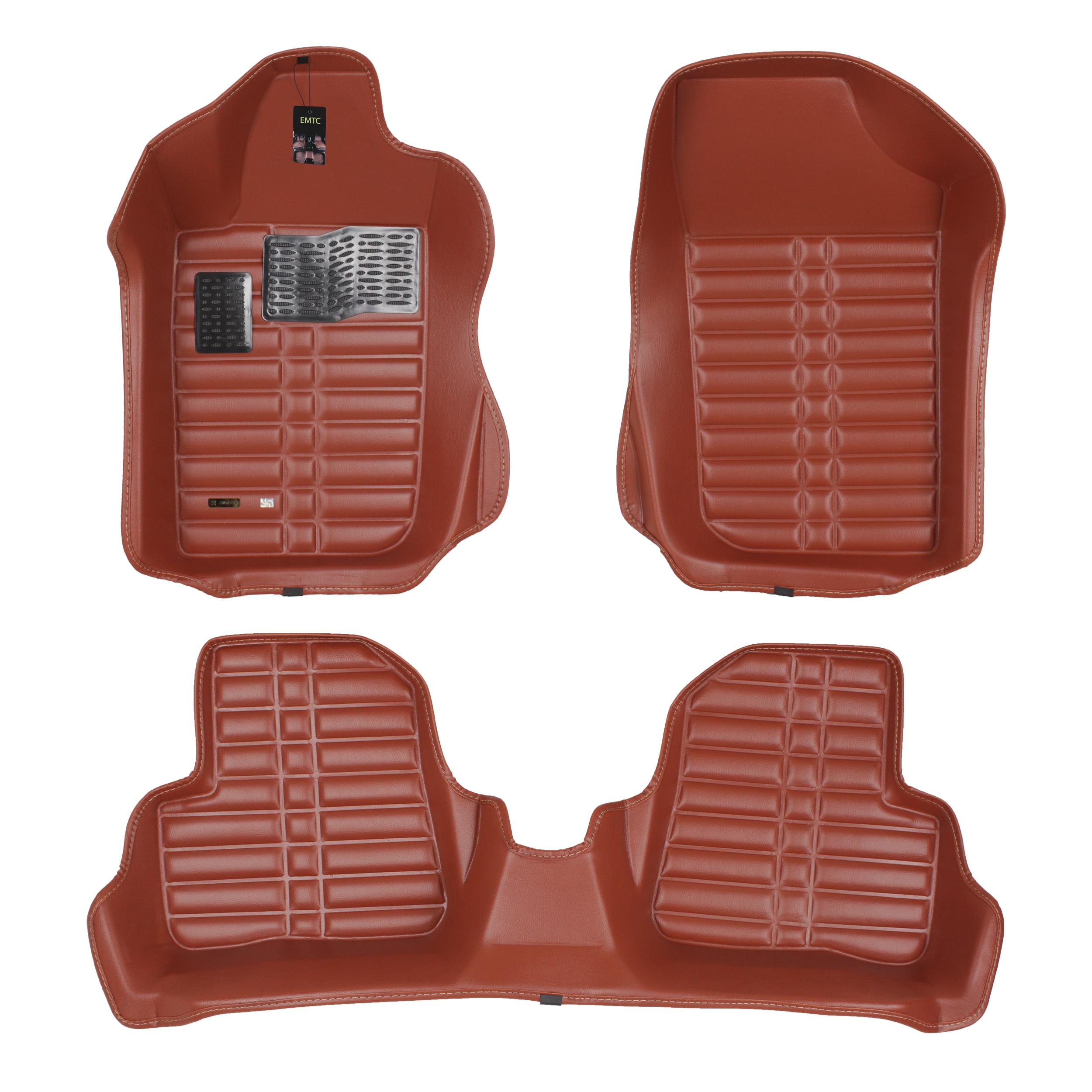کفپوش سه بعدی خودرو ای ام تی سی مدل EMTC206 مناسب برای پژو 206