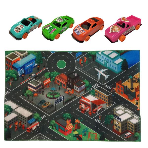 بازی آموزشی مدل شهر ترافیک کد f4