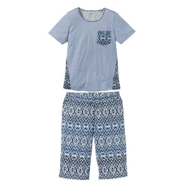 ست تی شرت و شلوارک زنانه اسمارا کد BL01
