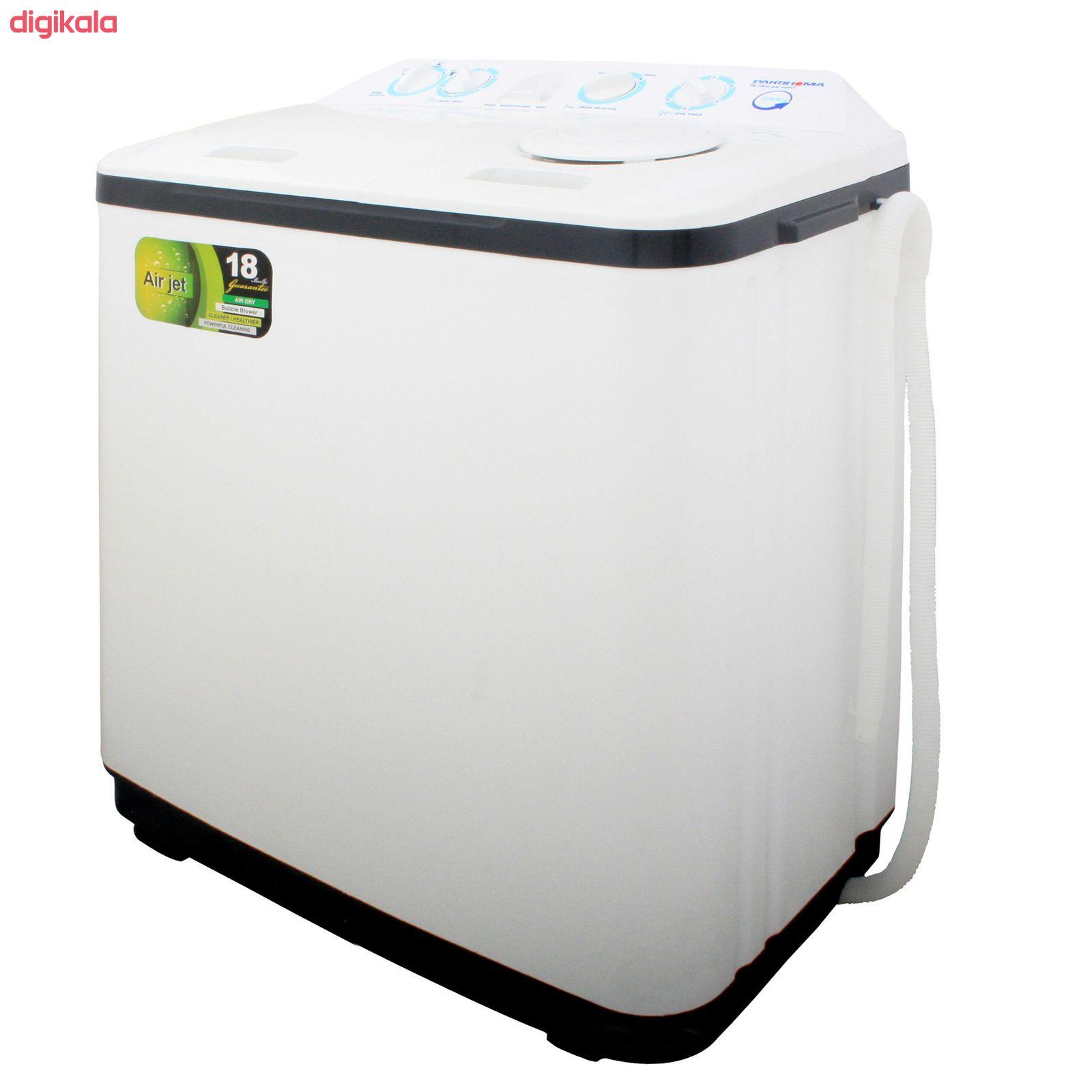 ماشین لباسشویی پاکشوما مدل PWN-9654AJ ظرفیت 9.6 کیلوگرم main 1 3