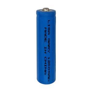 باتری لیتیوم یون قابل شارژ مدل 18650 LISA GARY ظرفیت 1200 میلی آمپر ساعت