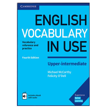کتاب English Vocabulary In Use Upper-Intermediate اثر Michael McCarthy and Felicity O Dell انتشارات هدف نوین