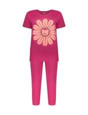 ست تی شرت و شلوارک راحتی زنانه مادر مدل 2041101-66 -  - 1