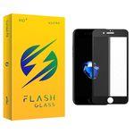 محافظ صفحه نمایش شیشه ای فلش مدل +HD مناسب برای گوشی موبایل اپل iphone 8