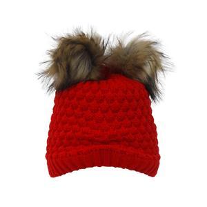 کلاه بافتنی دخترانه تولیدی منوچهری کد po6120