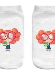 جوراب بچگانه طرح دختر دوردانه کد o28 -  - 2