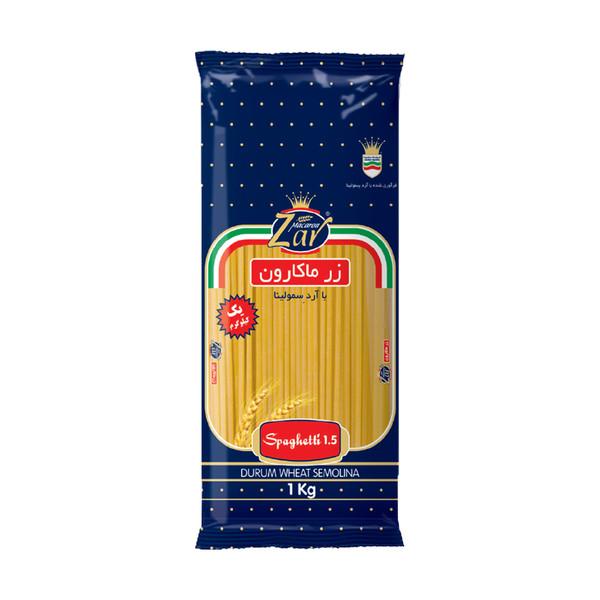 اسپاگتی قطر 1.5 زر ماکارون مقدار 1000 گرم