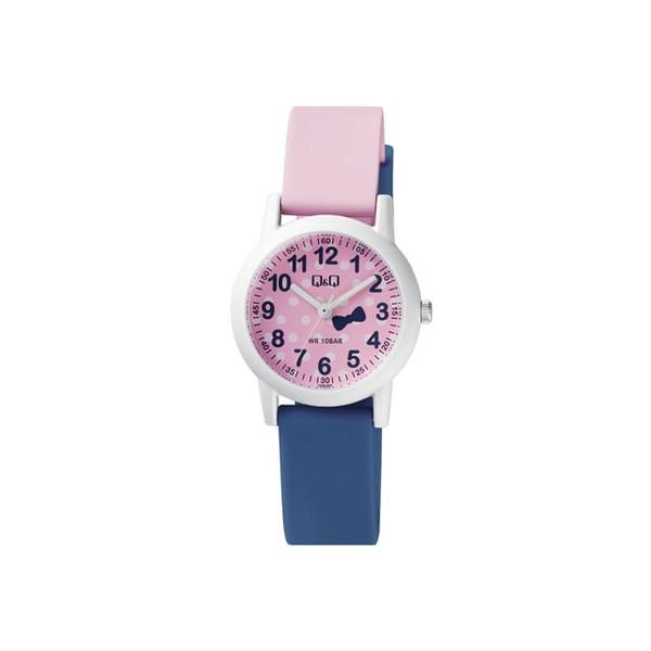 ساعت مچی عقربه ای دخترانه کیو اند کیو مدل VS49J005Y