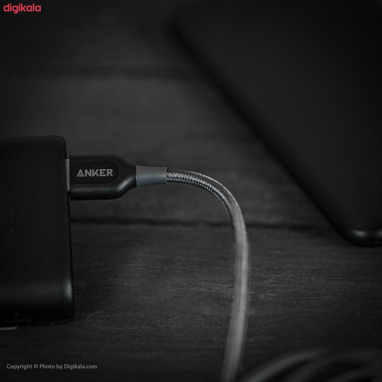کابل تبدیل USB به لایتنینگ انکر مدل A8122 PowerLine Plus طول 1.8 متر main 1 21
