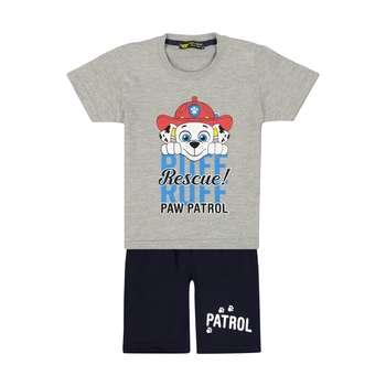 ست تی شرت و شلوارک بچگانه خرس کوچولو مدل 2011199-93