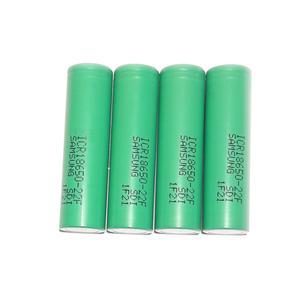 باتری لیتیم یون سامسونگ قابل شارژ مدل ICR18650-22F بسته 4 عددی