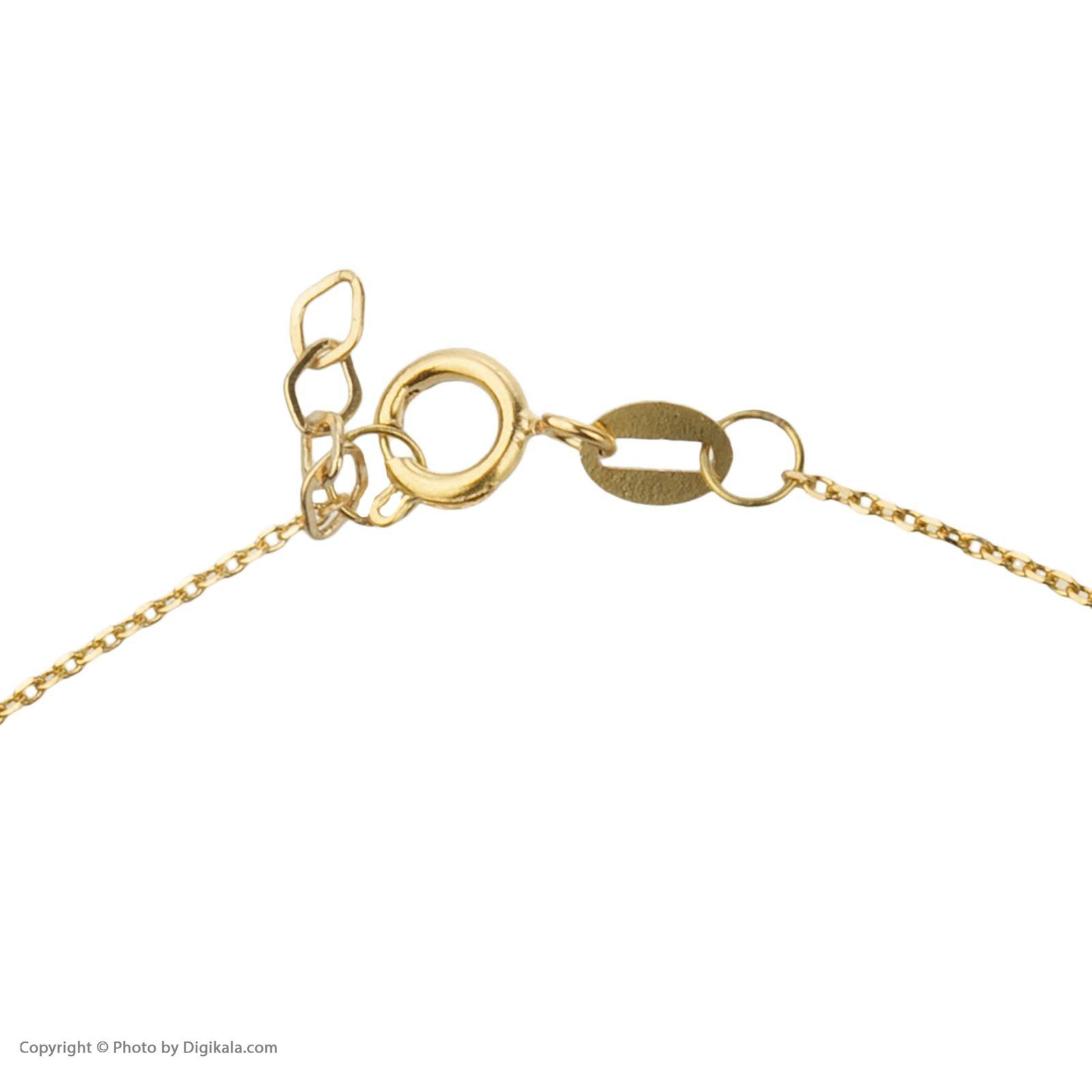 دستبند طلا 18 عیار زنانه میو گلد مدل GD626 -  - 5