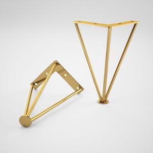 پایه میز عسلی مدل پایه مبل سارینا مدل مثلثی بسته 1 عددی