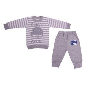 ست تی شرت و شلوار نوزادی کد 568