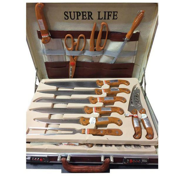 سرویس چاقو و چنگال 25 پارچه سوپر لایف مدل 001