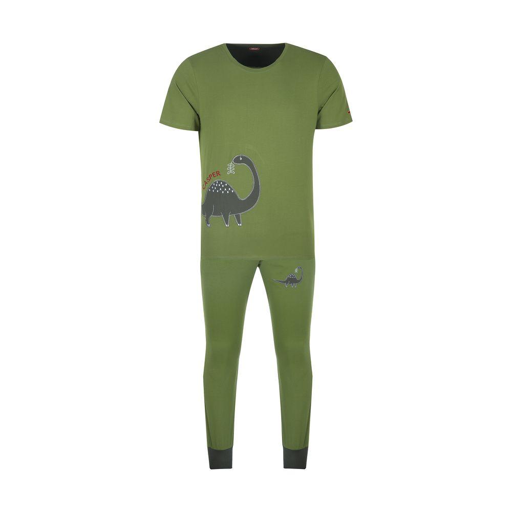 ست تی شرت و شلوارک راحتی مردانه مادر مدل 2041106-42