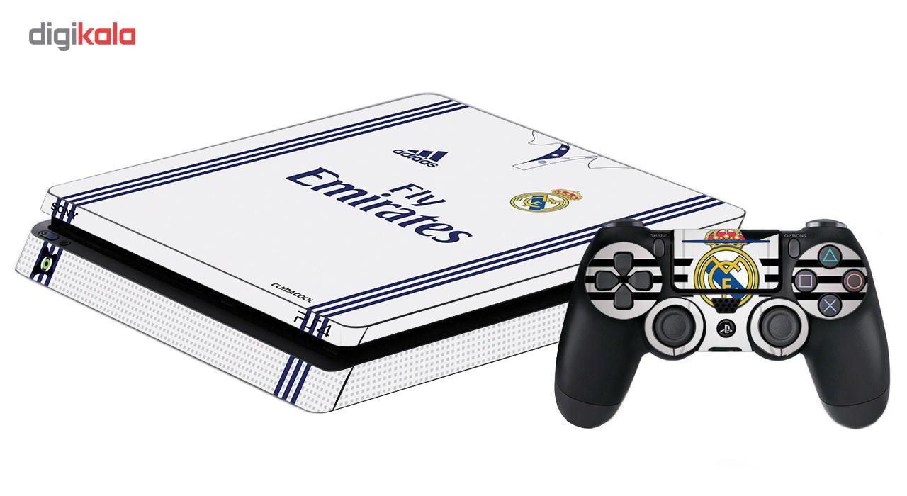 برچسب پلی استیشن 4 اسلیم آی گیمر طرح Real Madrid