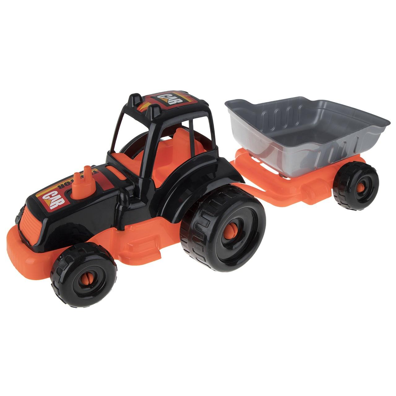 ماشین بازی زرین تویز مدل Tractor H3