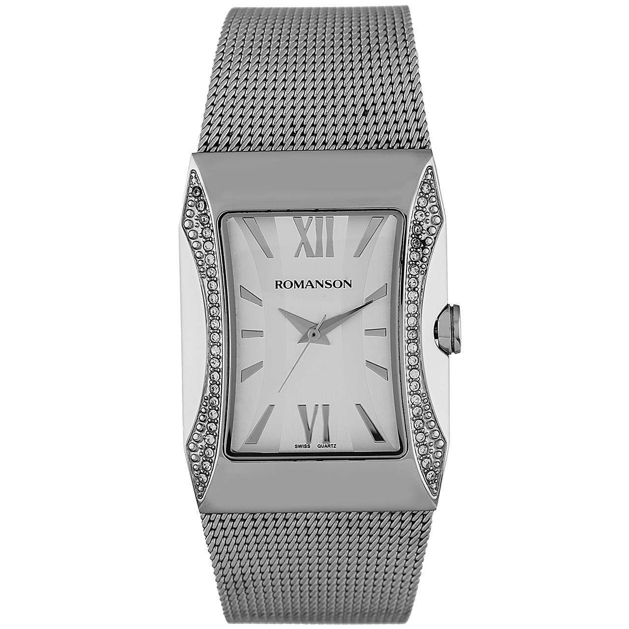 ساعت مچی عقربه ای زنانه رومانسون مدل RM0358TL1WAS2W 12