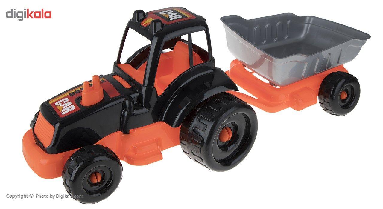 ماشین بازی زرین تویز مدل Tractor H3 main 1 1