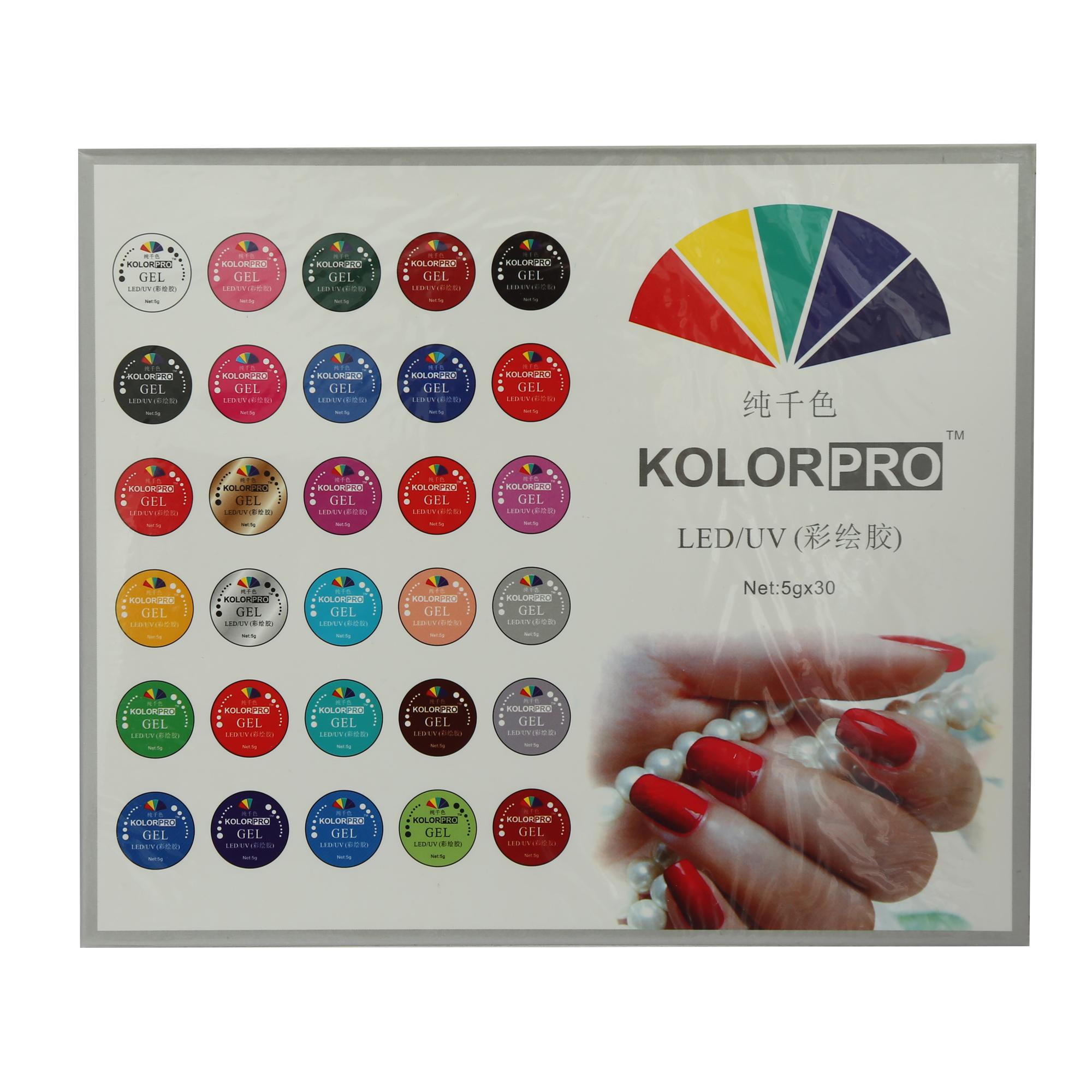 لاک ژل ناخن مدل Kolor Pro بسته 30 عددی main 1 3