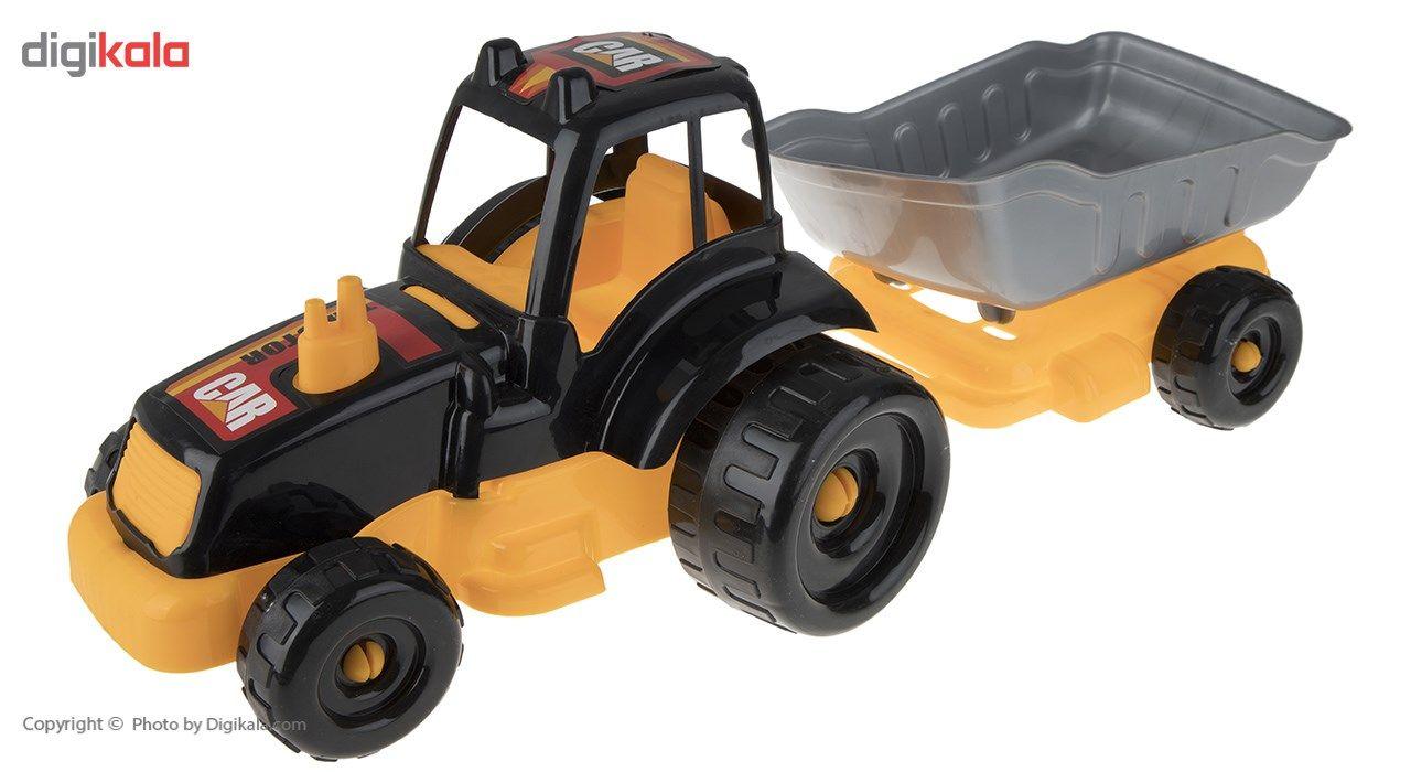 ماشین بازی زرین تویز مدل Tractor H3 main 1 2
