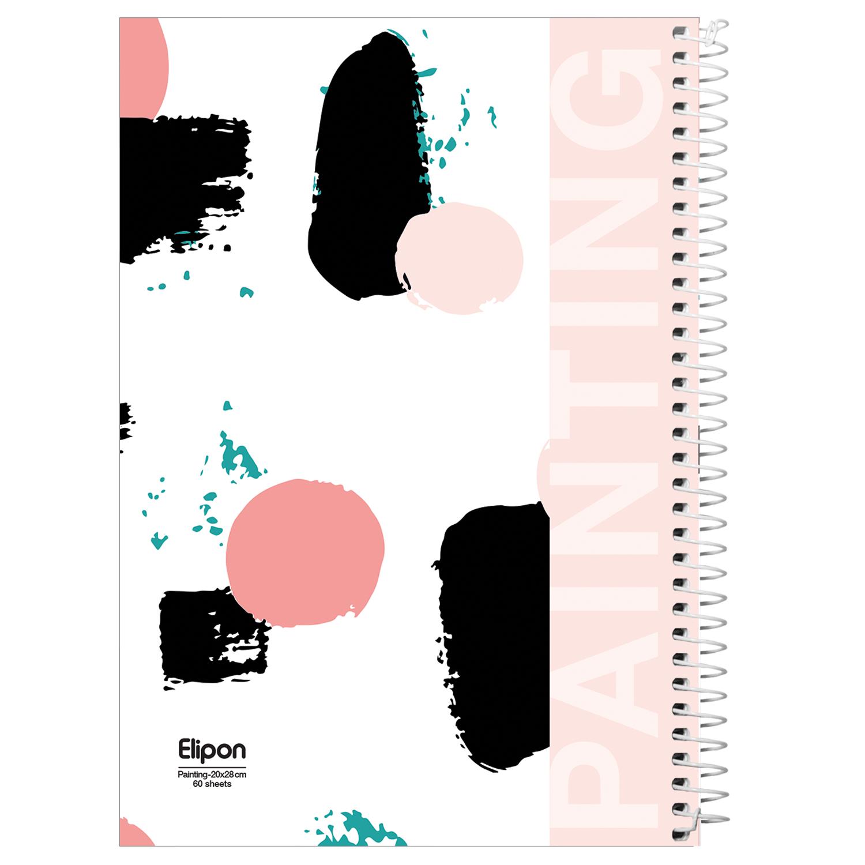 دفتر نقاشی 60 برگ الیپون کد 2564509