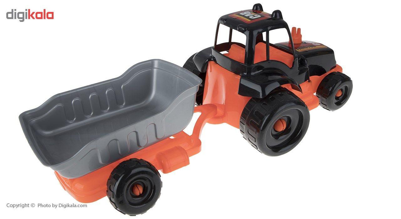 ماشین بازی زرین تویز مدل Tractor H3 main 1 3