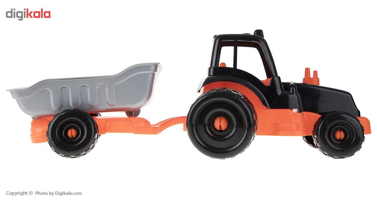 ماشین بازی زرین تویز مدل Tractor H3 main 1 4