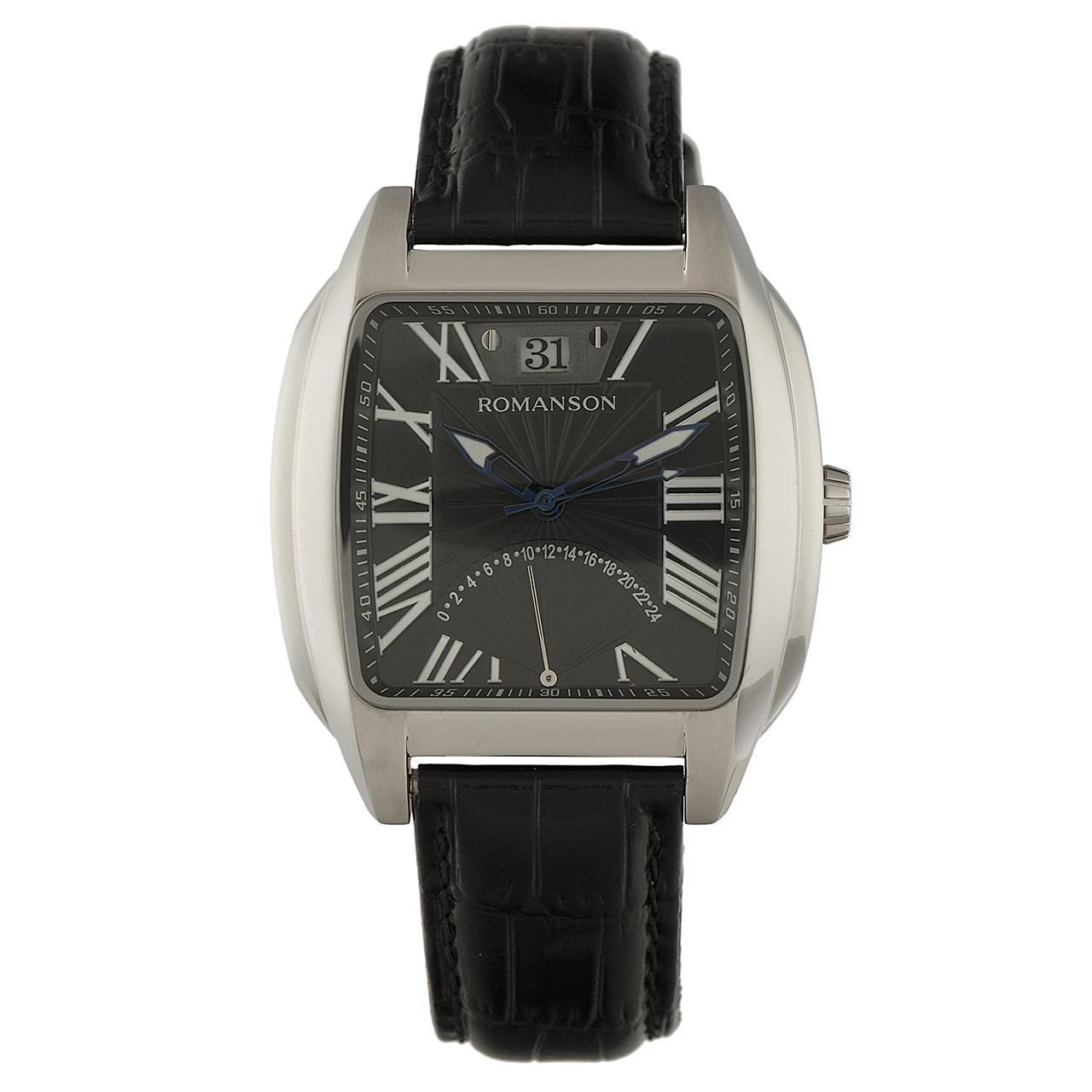 ساعت مچی عقربه ای مردانه رومانسون مدل TL1273MM1WA37U 45