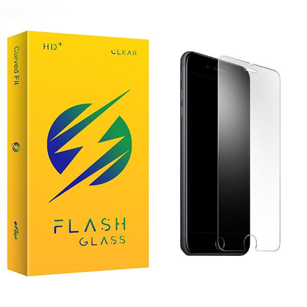 محافظ صفحه نمایش فلش مدل +HD مناسب برای گوشی موبایل اپل iPhone 7 Plus