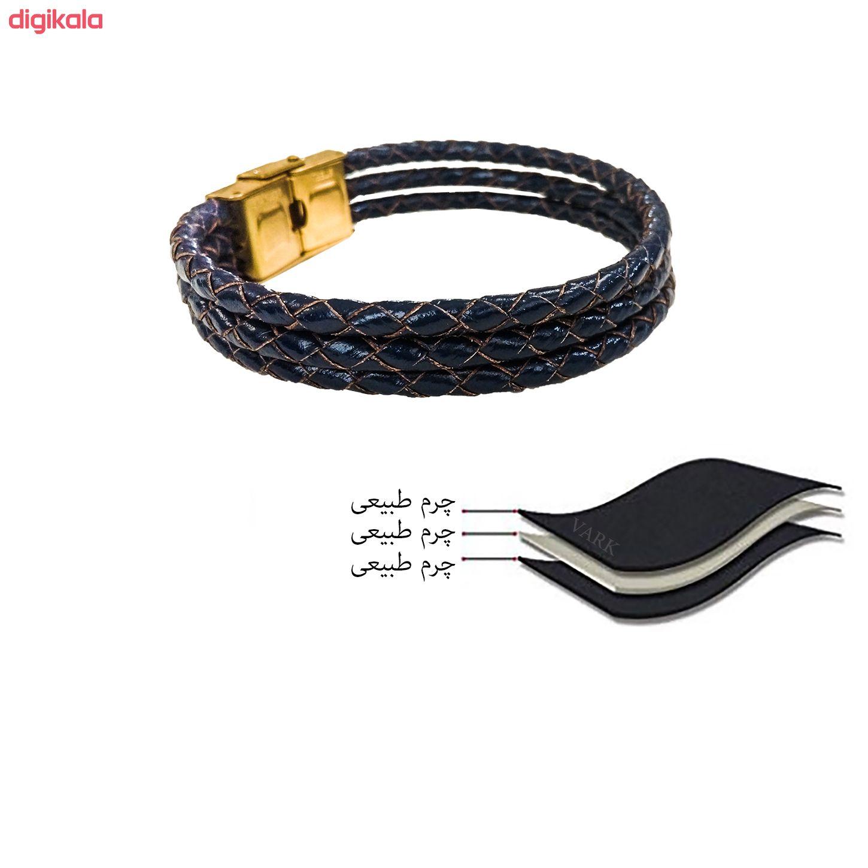 دستبند چرم وارک مدل دایان کد rb326 main 1 7