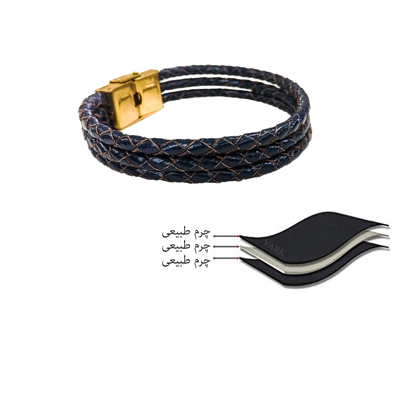 دستبند چرم وارک مدل دایان کد rb329 main 1 7