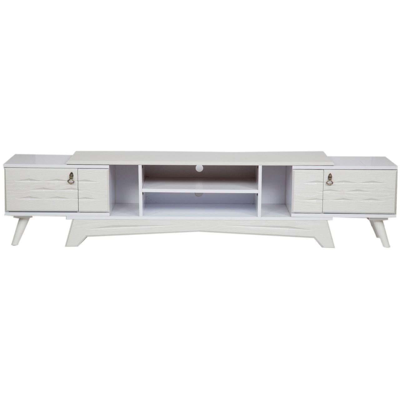 میز تلویزیون کارماچوب مدل M103 رنگ سفید