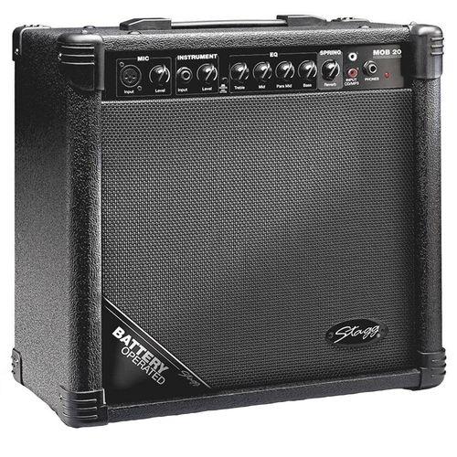 آمپلی فایر شارژی گیتار استگ مدل MOB20