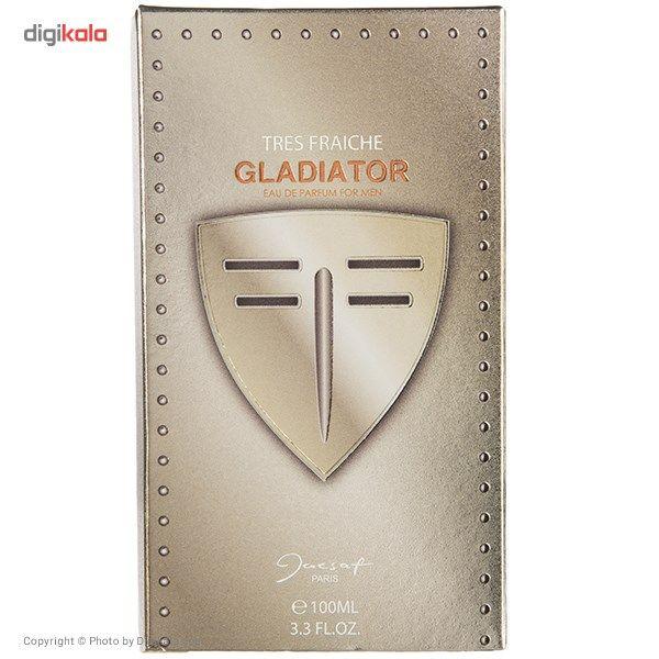 ادو پرفیوم مردانه ژک ساف مدل Gladiator Tres Fraiche حجم 100 میلی لیتر main 1 2