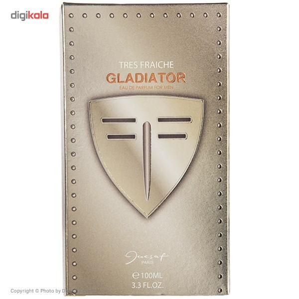 ادو پرفیوم مردانه ژک ساف مدل Gladiator Tres Fraiche حجم 100 میلی لیتر