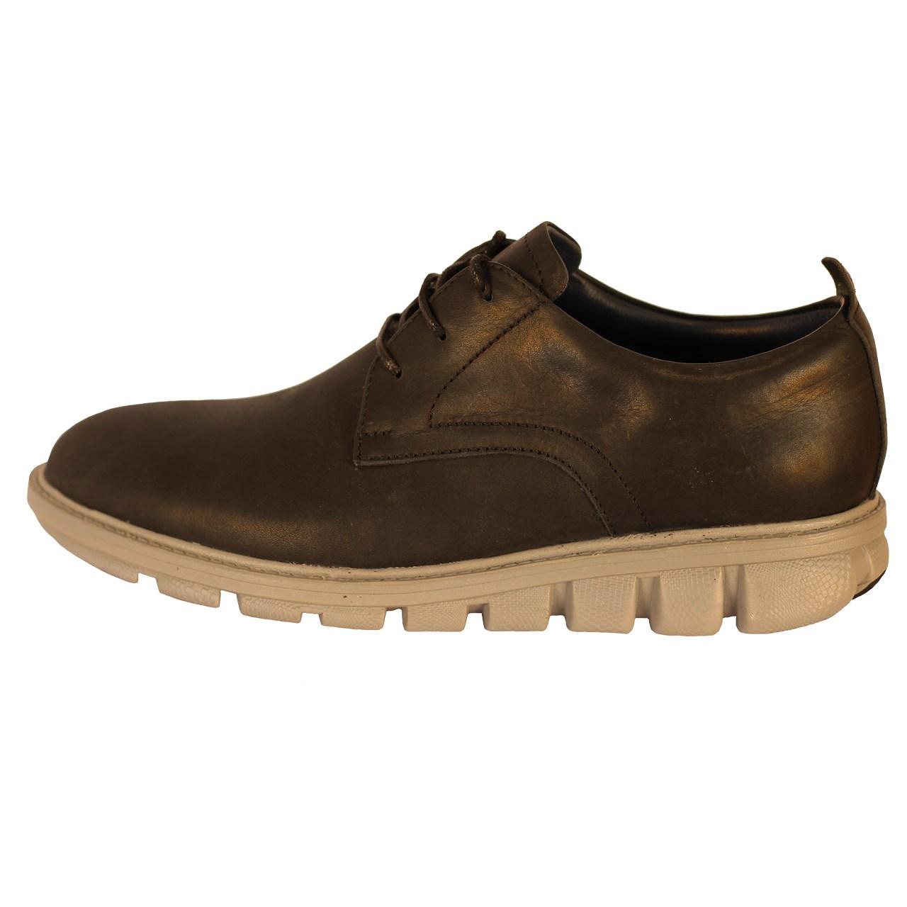 کفش مردانه چرم طبیعی  ژست مدل 1061