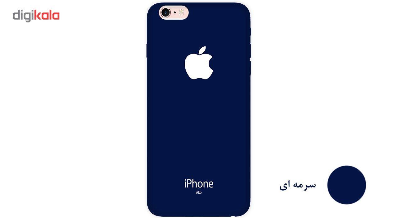 کاور آکو مدل colorland مناسب برای گوشی موبایل آیفون 6/6s main 1 17