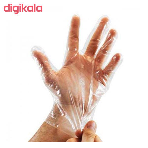 دستکش یکبار مصرف شیک مدل B-002 بسته 100 عددی main 1 2