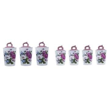 ست بانکه 14 پارچه باریز مدل Flower 1