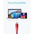 کابل تبدیل USB به USB-C انکر مدل PowerLine Plus II طول 0.9 متر thumb 10