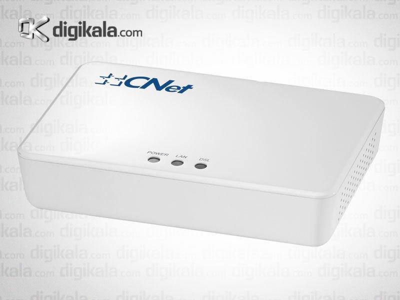 مودم-روتر +ADSL2 با سیم سی نت مدل CAR2-601U