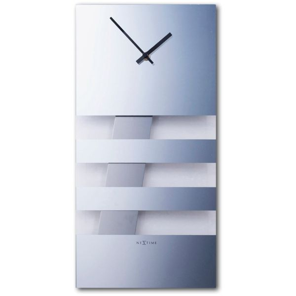 ساعت دیواری نکستایم مدل Bold Stripes Mirror 2855mi