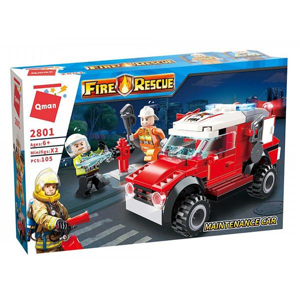 ساختنی کیومن مدل  ماشین آتش نشانی