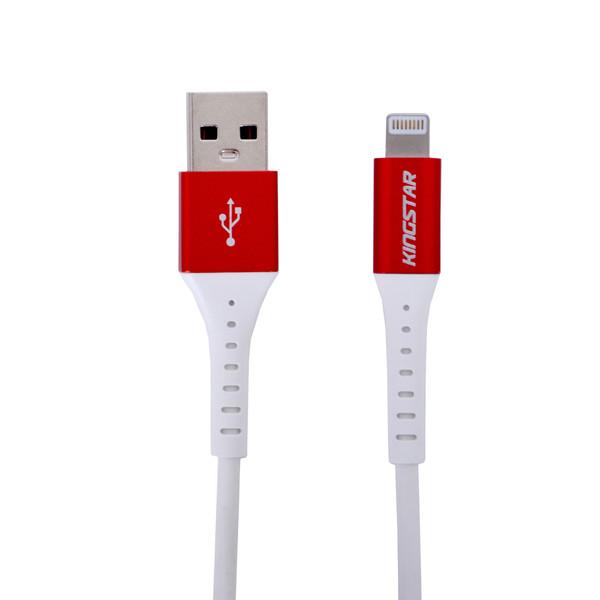 کابل شارژ و تبدیل USB به لایتنینگ کینگ استار مدل K69i طول 2 متر
